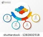 infographic design template....   Shutterstock .eps vector #1282832518