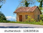 Small Rural Brick House Near...