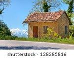 Small Rural Brick House Near...