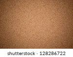 empty bulletin board  cork... | Shutterstock . vector #128286722