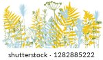 vector background with drawing...   Shutterstock .eps vector #1282885222