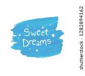 sweet dreams blob  vector... | Shutterstock .eps vector #1282894162