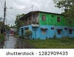 tortuguero village  costa rica... | Shutterstock . vector #1282909435