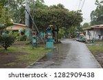tortuguero village  costa rica... | Shutterstock . vector #1282909438