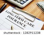 long term care insurance ltc or ... | Shutterstock . vector #1282911238