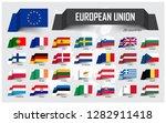 european union. eu and... | Shutterstock .eps vector #1282911418
