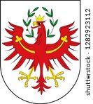 coat of arms of tyrol is a... | Shutterstock .eps vector #1282923112
