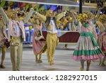 rio  brazil   february 11  2018 ... | Shutterstock . vector #1282927015