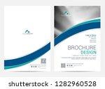 brochure template flyer design... | Shutterstock .eps vector #1282960528