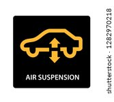 warning dashboard car icon  air ...   Shutterstock .eps vector #1282970218