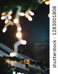 festive decoration lights ... | Shutterstock . vector #1283001808