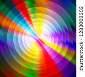abstract shiny colorful circles ... | Shutterstock .eps vector #1283003302