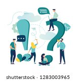 vector illustration  concept... | Shutterstock .eps vector #1283003965