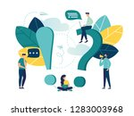 vector illustration  concept... | Shutterstock .eps vector #1283003968