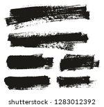 paint brush thin background... | Shutterstock .eps vector #1283012392
