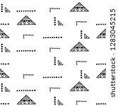 seamless vector geometrical... | Shutterstock .eps vector #1283045215