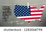 martin luther king day... | Shutterstock . vector #1283068798