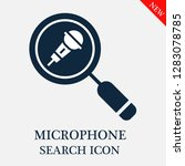 microphone search icon....