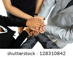 image of business partners... | Shutterstock . vector #128310842