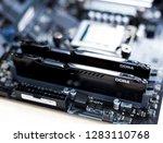 pc memory. ddr4.    Shutterstock . vector #1283110768