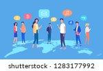 people global mobile internet...   Shutterstock .eps vector #1283177992