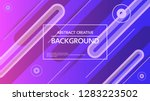 bright colored abstract... | Shutterstock .eps vector #1283223502