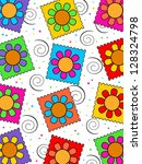 flower background | Shutterstock . vector #128324798