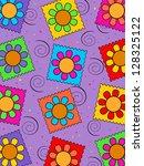 flower background | Shutterstock . vector #128325122
