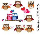 Cute Owls For Valentine Day....