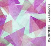 pink purple red and white... | Shutterstock . vector #1283263078