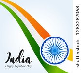 india republic day. 26 january... | Shutterstock .eps vector #1283282068