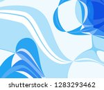 graphic illustration swirling... | Shutterstock . vector #1283293462