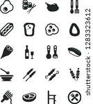 solid black vector icon set  ... | Shutterstock .eps vector #1283323612