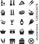 solid black vector icon set  ... | Shutterstock .eps vector #1283323678