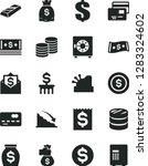 solid black vector icon set  ... | Shutterstock .eps vector #1283324602