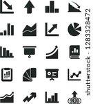 solid black vector icon set  ... | Shutterstock .eps vector #1283328472