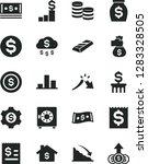 solid black vector icon set  ... | Shutterstock .eps vector #1283328505
