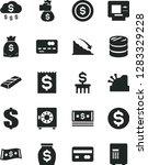 solid black vector icon set  ... | Shutterstock .eps vector #1283329228