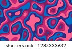 abstract background paper cut... | Shutterstock .eps vector #1283333632