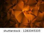 dark brown vector backdrop with ... | Shutterstock .eps vector #1283345335