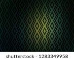 dark green  yellow vector... | Shutterstock .eps vector #1283349958