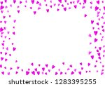 heart border background with... | Shutterstock .eps vector #1283395255