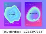 summer music set. fluid... | Shutterstock .eps vector #1283397385