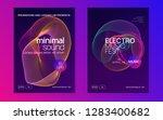 dj flyer. commercial show... | Shutterstock .eps vector #1283400682