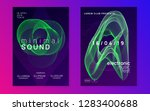 trance party. creative concert... | Shutterstock .eps vector #1283400688