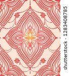 oriental style seamless pattern ... | Shutterstock .eps vector #1283408785