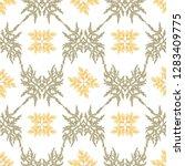 floral seamless pattern ... | Shutterstock .eps vector #1283409775