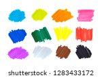 color highlight stripes ... | Shutterstock . vector #1283433172