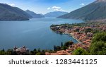 aerial panorama landscape of...   Shutterstock . vector #1283441125