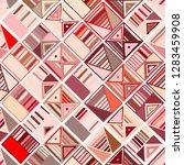seamless vector pattern.... | Shutterstock .eps vector #1283459908
